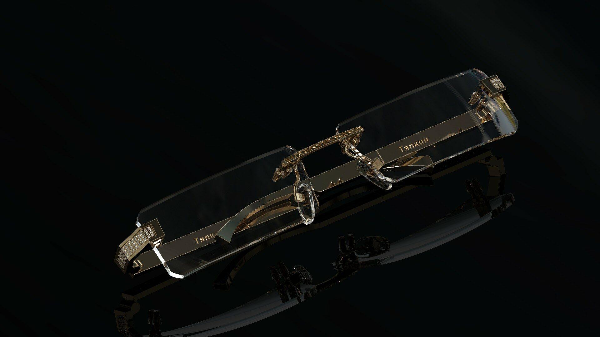 Золотые очки
